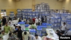 اتاق شمارش آرا در بغداد
