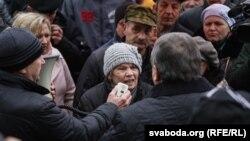 """""""Марш недармаедаў"""" у Слоніме 19 сакавіка 2017 году"""