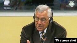 Aleksandar Vasiljević svjedoči u Hagu, 5. rujan 2013.