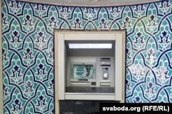 Банкамат — для трымальнікаў мясцовых картак