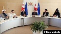 ოთხი რელიგიური კონფესიის ლიდერების შეხვედრა პრემიერ-მინისტრთან