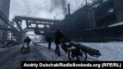 Коксохимический завод в Авдеевке, архивное фото