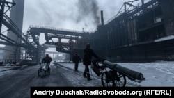 Авдіївський коксохімічний завод, Донецька область, січень 2019 року