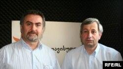 გელა ნიკოლაიშვილი (მარცხნივ) და გია თორთლაძე
