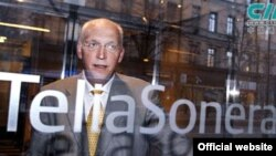 TeliaSonera телекоммуникация компаниясының атқарушы директоры Ларс Нюберг.