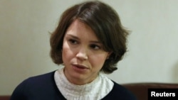 Nemtsovun qızı Jannas Nemtsova