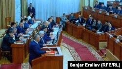 Членовите на новата Влада на Киргистан