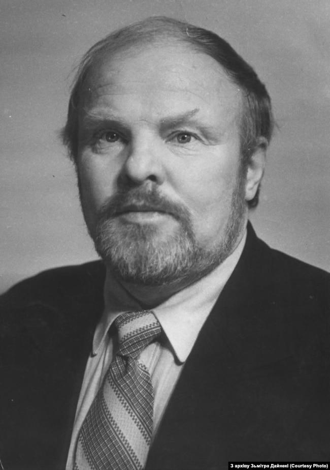 Леанід Дайнека. 1990 г.