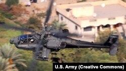 بنا بر گزارشها در حمله اخیر از هلیکوپترهای آپاچی نیز استفاده شده بود (در تصویر یک فروند آپاچی بر فراز بغداد دیده میشود. این عکس را دنیل مککلینتون، افسر ارتش آمریکا برای فلیکر ارتش ایالات متحده گرفتهاست)