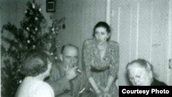 Вера Ильинична, Илья Андреевич, Ольга Михайловна, Александра Львовна Толстые, 1950-е