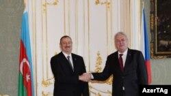 Президенты Азербайджана и Чехии – Ильхам Алиев и Милош Земан