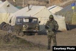 На Чонгарі, березень 2014 року. Фото з особистого архіву Сергія Куза