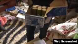 Скріншот № 4 з відео обшуку ФСБ у Дмитра Штиблікова