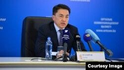 Комиссар по правам человека в Казахстане Аскар Шакиров (архив)
