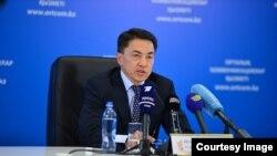Уполномоченный по правам человека в Казахстане Аскар Шакиров.