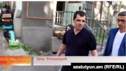 Армения - Ара Будагян выходит на свободу, 10 июня 2016 г.