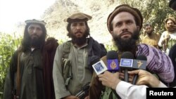 Заменик-шефот на Талибанците во племенската област Баџаур, Мула Дадула.