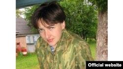 Українська військова льотчиця Надія Савченко