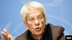 Carla del Ponte says she will resign from a commission studying human rights abuses in Syria.