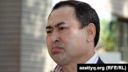 Оралман-активист Рахим Айыпулы. Алматы, 27 сентября 2011 года.