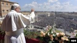 Ілюстрацыйнае фота. Папа Рымскі Францішак у Ватыкане