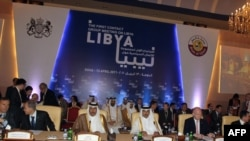 Заседание международной контактной группы по Ливии в Дохе, столице Катара