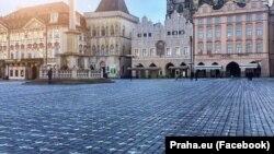 Староместская площадь, Прага, Чехия, 22 марта 2021 года