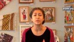 Крымская школьница читает стихи Тараса Шевченко