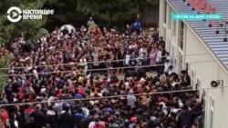 Трудовые мигранты из Узбекистана месяцами ждут в России открытия границы, чтобы попасть домой