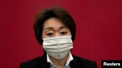 Presidentja e komitetit organizues të Lojërave Olimpike në Tokio, Seiko Hashimoto.