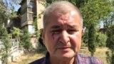 Раҳматилло Зоиров дар наздикии хонааш дар Душанбе. 24-уми сентябри 2020