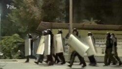Відео розгону протестувальників у столиці Киргизстану