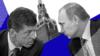 Дмитрий Козак (слева) и Владимир Путин (коллаж)