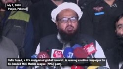 Banned Islamist Leader Openly Campaigns In Pakistan