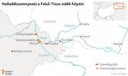 A hulladékgyűjtő szigeteket Aranyosapátiban, Vásárosnaménynál, Olcsvánál és Tivadarnál helyezték el. Tiszabecsnél, Dolhán, Huszton és Rahón pedig kamerák figyelik a tiszai szemetet.