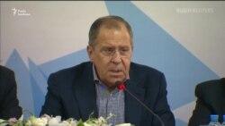 Лавров назвав удари по Сирії «неприйнятними і неправомірними» (відео)