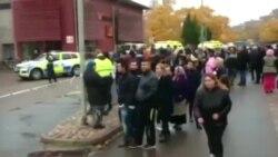 Невідомий з мечем напав на школу в Швеції