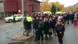 Неизвестный с мечом напал на школу в Швеции