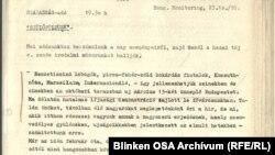 A Kossuth Rádió műsorának átirata a Szabad Európa Rádió archívumából.