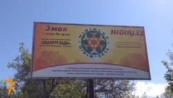Krym tatarlary, protest hökmünde, Bahar festiwalyny goýbolsun etdi