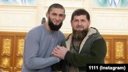 Чимаев Хьамзат а. Кадыров Рамзан а