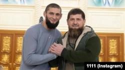 Чимаев Хьамзат а, Кадыров Рамзан а