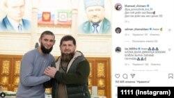 Хамзат Чимаев и Рамзан Кадыров