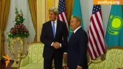 Назарбаев Керримен кездесті