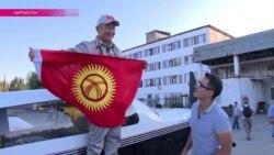 Вокруг света на одномоторном самолете в честь 25-летия независимости Кыргызстана