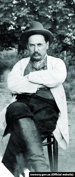 Євген Чикаленко (1861–1929), один з ініціаторів створення Української Центральної Ради, меценат