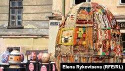 Фестиваль расписных яиц во Львове. 29 апреля 2014 года