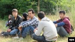 افغان پناه غوښتونکي.