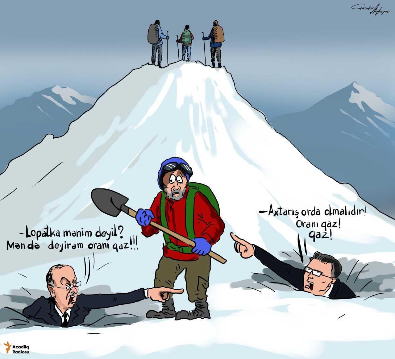 'İtkin alpinistlərin axtarışı'
