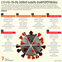 Georgia -- Infographic of COVID-19. Jul2020